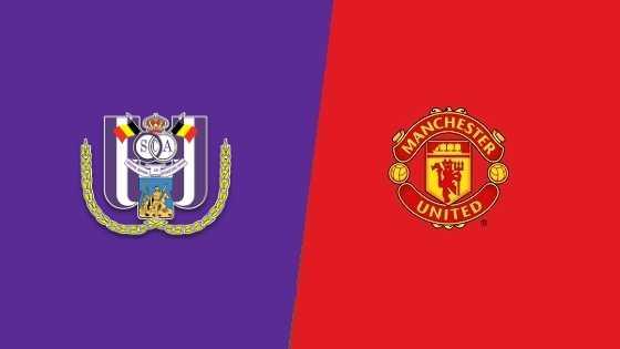 «Андерлехт» «Манчестер Юнайтед»