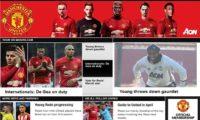 Обзор официального сайта «Манчестер Юнайтед»
