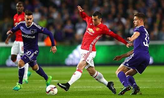 «Андерлехт» — «Манчестер Юнайтед»