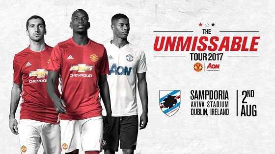 «Манчестер Юнайтед» «Сампдория»