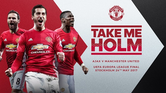 финал Лиги Европы «Аякс» - «Манчестер Юнайтед»