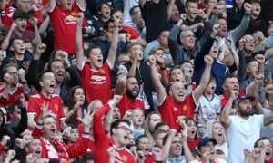 фанаты «Манчестер Юнайтед»
