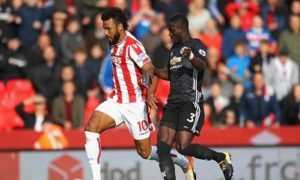 «Сток Сити» - «Манчестер Юнайтед» 2:2