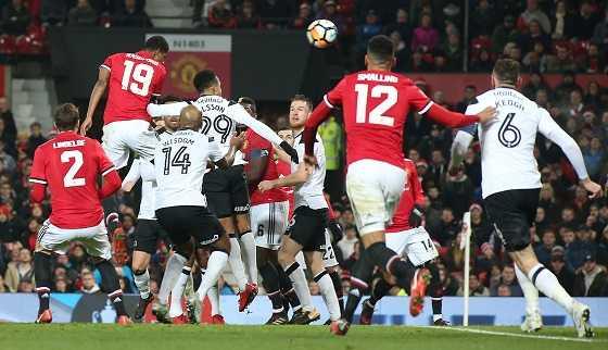 «Манчестер Юнайтед» - «Дерби Каунти»