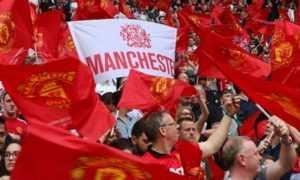 фанаты Юнайтед