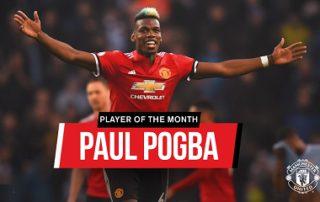 Поль Погба — лучший игрок апреля