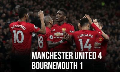Манчестер Юнайтед - Борнмут