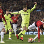 "Лига Чемпионов ""Манчестер Юнайтед"" - ""Барселона"" 0:1"