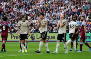 """Премьер-лига, 6 тур, """"Вест Хэм Юнайтед"""" - """"Манчестер Юнайтед"""" 2:0"""