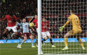"""Манчестер Юнайтед ""- ""Астон Вилла"" 2:2"
